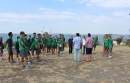 """Целият отбор на Нефтохимик посети остров """"Света Анастасия"""""""