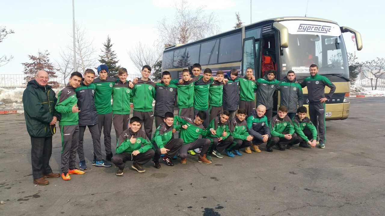 Юношите на Нефтохимик заминаха на подготвителен лагер във Велинград