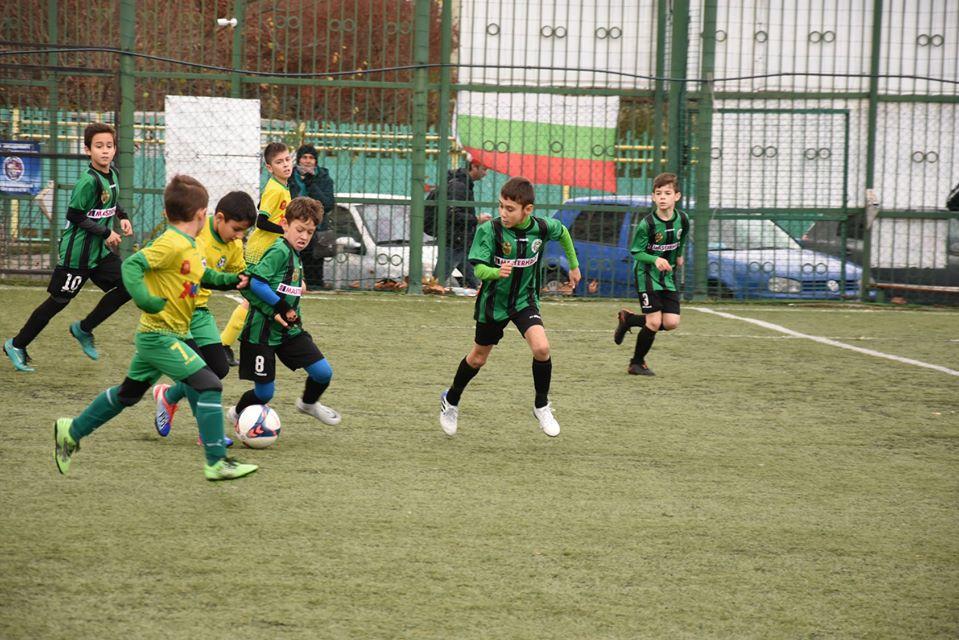 """Малките """"шейхове"""" завоюваха челни позиции на турнира """"Футболни звезди на България"""""""